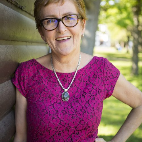 Carol McLean smiling